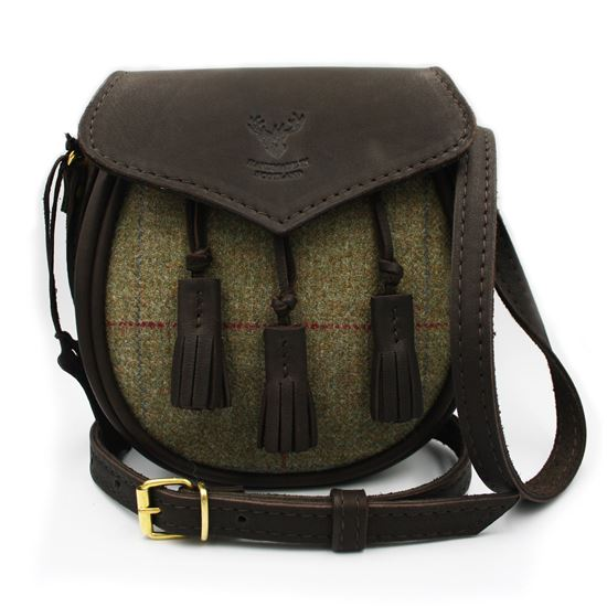 Picture of Ladies Sporran Bag Tattoo Tweed