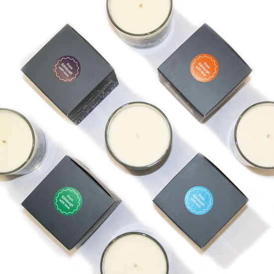 Picture of Edinburgh Skyline Candles