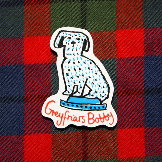 Picture of Greyfriars Bobby Badge