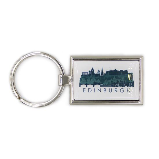 Picture of Edinburgh Skyline Keyring