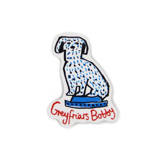 Picture of Greyfriars Bobby Magnet