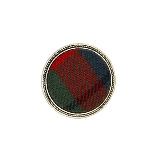 Picture of Tattoo Tartan Brooch