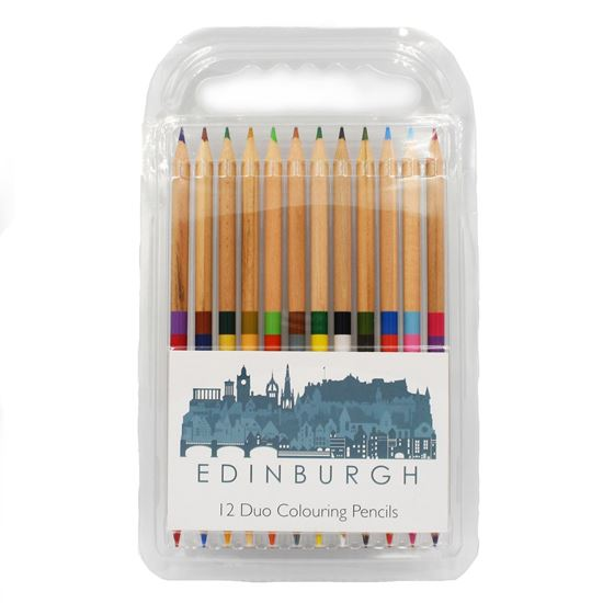 Picture of Edinburgh Skyline Colouring Pencils