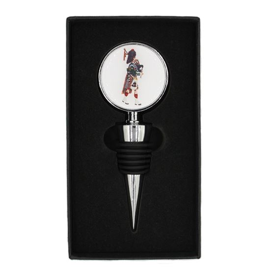 Picture of Bottle Stopper - Pipes and Drums