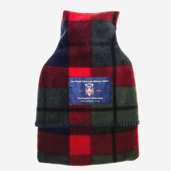 Picture of Tattoo Tartan Hot Water Bottle