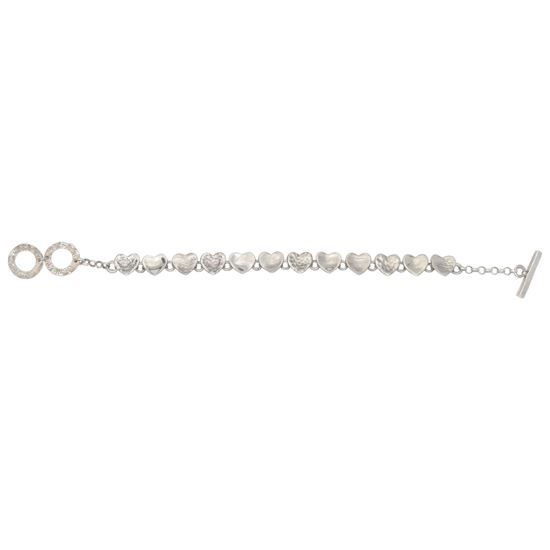 Picture of Uneven Heart Bracelet - Reduced Price