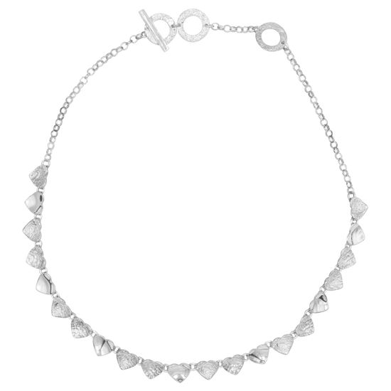Picture of Uneven Heart Necklace - Reduced Price