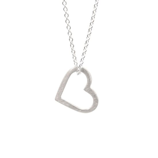 Picture of Eternity Heart Single Pendant - Reduced Price