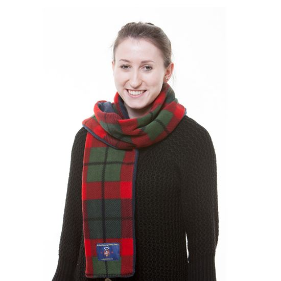 Picture of Tattoo Tartan Fleece Scarf