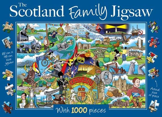 Picture of Scotland Family Jigsaw
