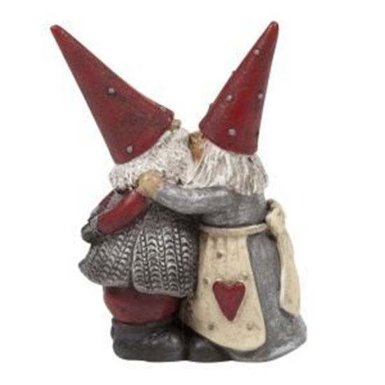 Picture of Santa Hakan and Stina Kissing