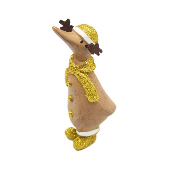 Picture of Dinky Duck Gold Reindeer