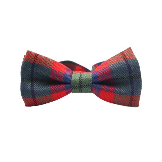 Picture of Tattoo Tartan Bow Tie