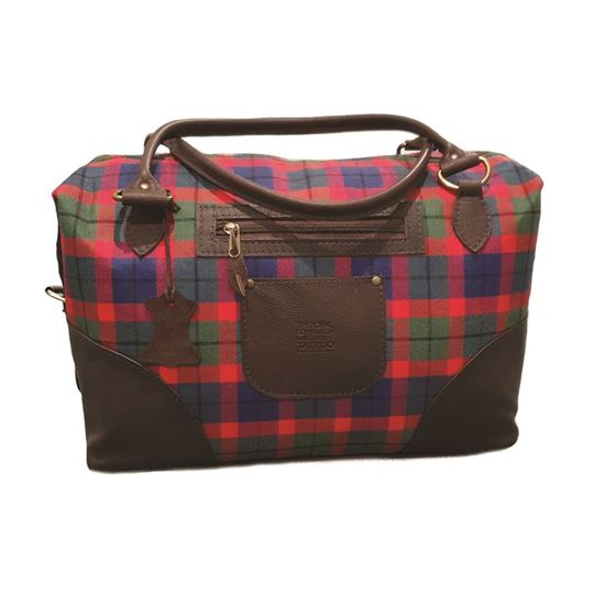 Picture of Tattoo Tartan Holdall Bag
