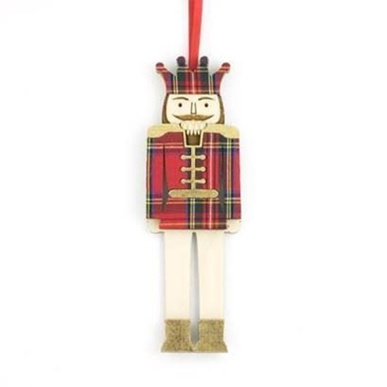 Picture of Christmas Tartan Decoration