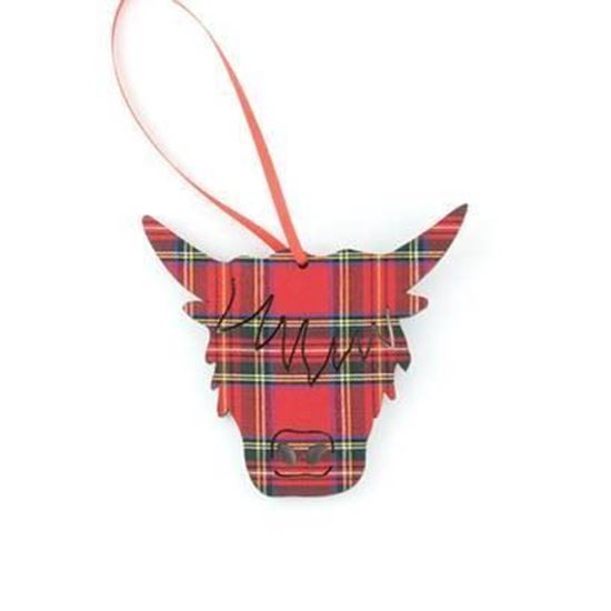 Picture of Tartan Hanging  Decoration
