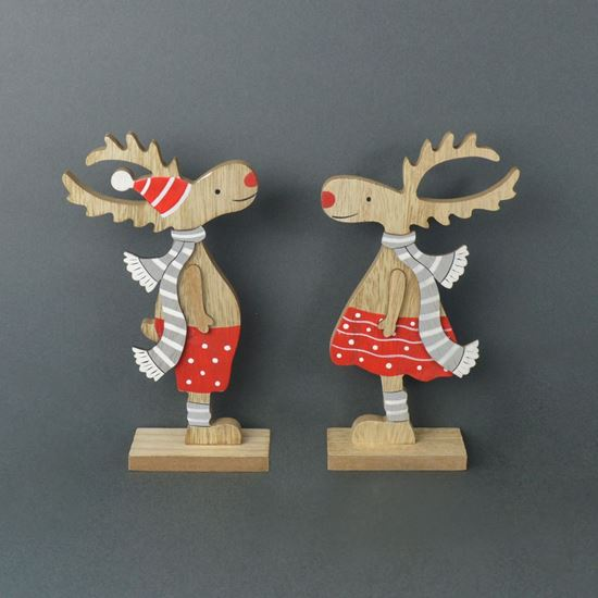 Picture of Mr & Mrs Rudolph Reindeer