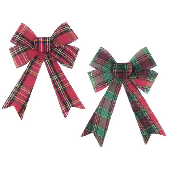 Picture of Large Tartan Bow