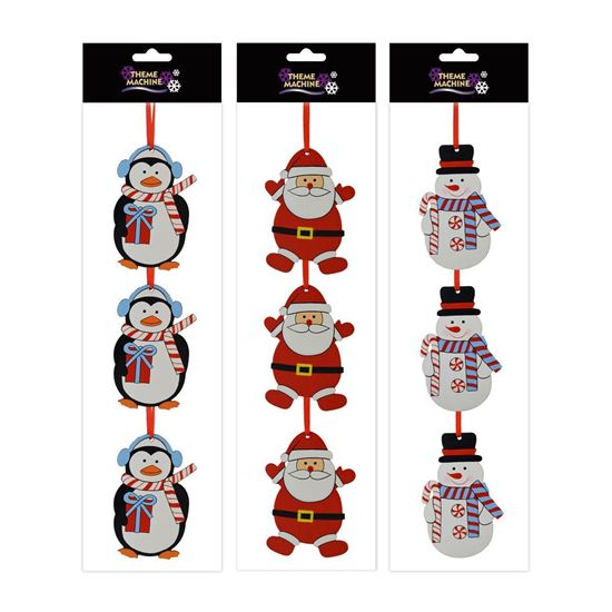 Picture of Wooden Character Hanger Decorations