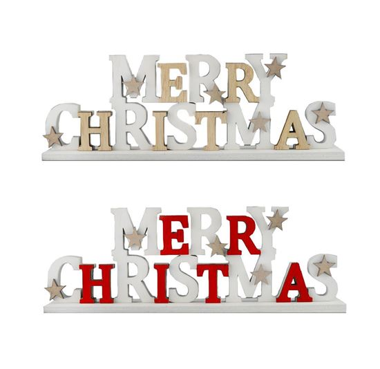 Picture of Merry Christmas Standing Sign