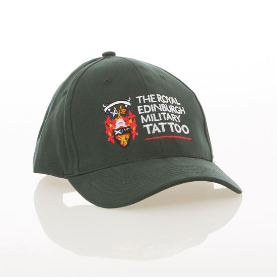 Picture of Baseball Cap - Green with FREE T-Shirt
