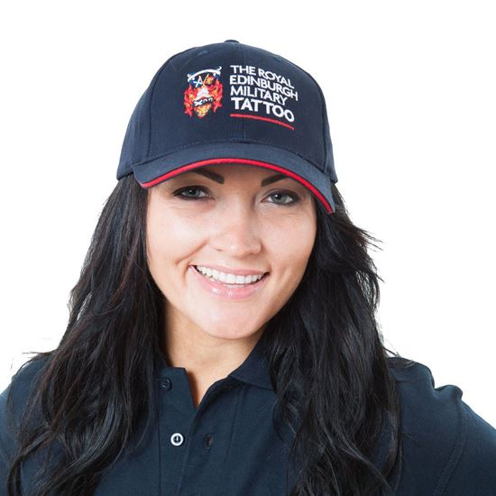 Picture of Baseball Cap - Navy with FREE T-Shirt