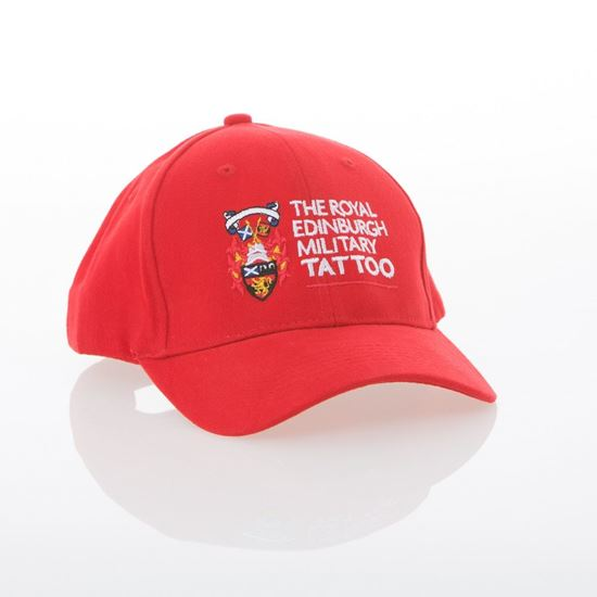 Picture of Baseball Cap - Red with FREE T-Shirt