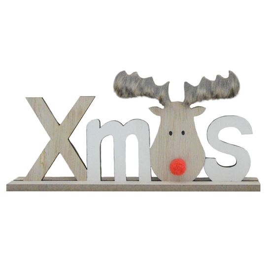 Picture of Rudolph Xmas Standing Sign